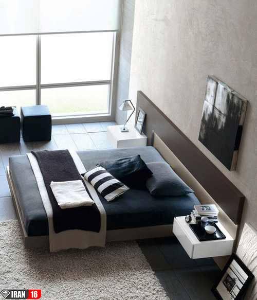 مدل های جدید تخت خواب دو نفره ( تصویری)