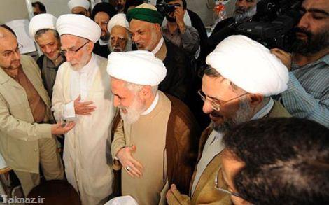 امروز چه کسانی به عیادت از رهبر انقلاب رفتند ؟ + عکس