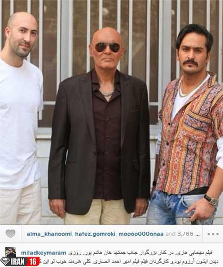 اخبار,اخبار فرهنگی ,بازیگران سینما در شبکههای اجتماعی