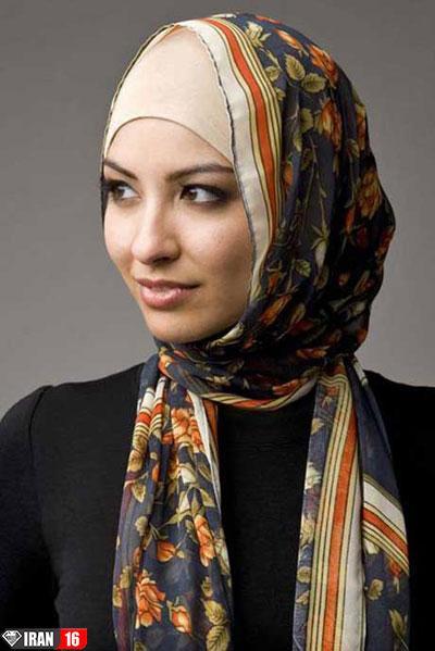 مدل بستن شال و روسری,آموزش بستن شال و روسری
